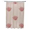 e by design Coastal Calm Shower Curtain
