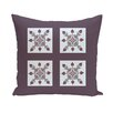 e by design Moroccan Medley Geometric Throw Pillow