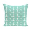 e by design Coastal Calm Throw Pillow