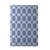 e by design Geometric Light Blue Indoor/Outdoor Area Rug