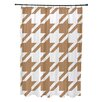 e by design Animal Magnatism Geometric Shower Curtain