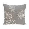 e by design Flower Power Throw Pillow