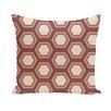e by design Subline Geometric Throw Pillow