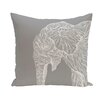 e by design Animal Magnatism Throw Pillow