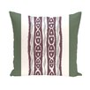 e by design I-Kat U-Dog Stripe Throw Pillow