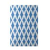 e by design Geometric Blue Indoor/Outdoor Area Rug