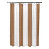 e by design Stripe a Balance Shower Curtain