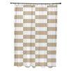 e by design Stripe a Balance Shower Curtain