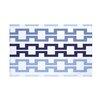 e by design Cuff-Links Geometric Print Throw Blanket