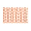 e by design Honeycomb Pop Geometric Print Throw Blanket