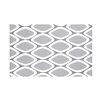 e by design Pebbles Geometric Print Throw Blanket