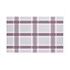 e by design Criss Cross Applesauce Plaid Print Throw Blanket