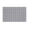 e by design Diamond Mayhem Geometric Print Throw Blanket
