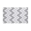 e by design Inside The Lines Chevron Print Throw Blanket