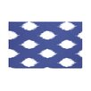e by design Ikat Dot Geometric Print Throw Blanket
