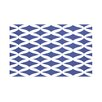 e by design Lattice Kravitz Geometric Print Throw Blanket