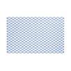 e by design Gingham Check Geometric Print Throw Blanket