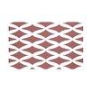 e by design Lattice Kravitz Geometric Print Throw Blanket