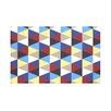 e by design Triangles! Geometric Print Throw Blanket
