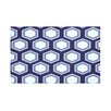 e by design Hex Appeal Geometric Print Throw Blanket