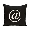 e by design At the World Go Round Throw Pillow