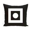 e by design Geometric Throw Pillow