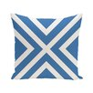 """e by design """"X"""" Marks the Spot Stripes Print Outdoor Pillow"""