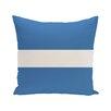 e by design Narrow the Gap Stripe Print Outdoor Throw Pillow