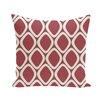 e by design Pebbles Geometric Print Outdoor Pillow