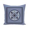 e by design Kaleidoscope Geometric Print Outdoor Pillow