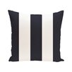 e by design Awning Stripe Print Outdoor Pillow