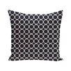 e by design Link Lock Geometric Print Outdoor Pillow