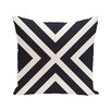e by design Bold Stripe Decorative Outdoor Floor Pillow