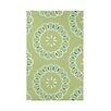 e by design Happiness Is… Floral Print Polyester Fleece Throw Blanket