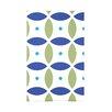 e by design Beach Ball Geometric Print Polyester Fleece Throw Blanket
