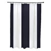 e by design Awning Stripe Print Shower Curtain