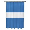 e by design Narrow the Gap Stripe Print Shower Curtain
