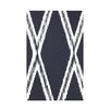 e by design Gate Keeper Geometric Print Polyester Fleece Throw Blanket
