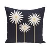 e by design Daisy May Floral Print Outdoor Throw Pillow