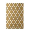 e by design French Quarter Geometric Print Dijon Indoor/Outdoor Area Rug