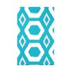 e by design Geometric Print Fleece Throw Blanket
