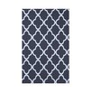 e by design Marrakech Express Geometric Print Polyester Fleece Throw Blanket