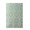e by design Road to Morocco Geometric Print Green Pint Indoor/Outdoor Area Rug