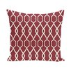 e by design Charleston Geometric Print Throw Pillow