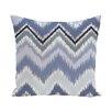 e by design Ikat-arina Chevron Print Throw Pillow