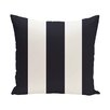 e by design Awning Stripe Print Throw Pillow