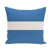 e by design Narrow The Gap Stripe Print Throw Pillow