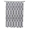 e by design Charleston Geometric Print Shower Curtain