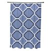 e by design Road to Morocco Geometric Print Shower Curtain