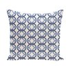 e by design We're All Connected Geometric Print Throw Pillow